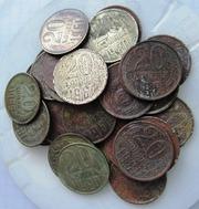 Продам монеты 20коп.31шт.