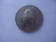 Продаєтся Монета Liberty Quarter Dollar (d) 1989 перевертиш