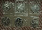 Набор монет Барселона 1992 Оригиналы Пруф
