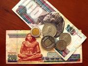 Куплю Египетские фунты ,  немецкую марку , швейцарский франк.